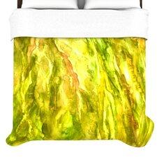 """Tropical Delight"" Woven Comforter Duvet Cover"