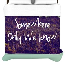 Somewhere Duvet Cover