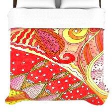 """""""Swirls"""" Woven Comforter Duvet Cover"""