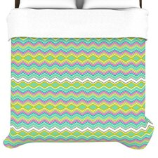 <strong>KESS InHouse</strong> Chevron Love Duvet Cover
