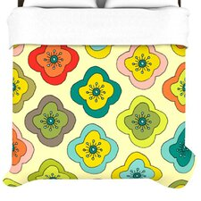 Forest Bloom Duvet Cover