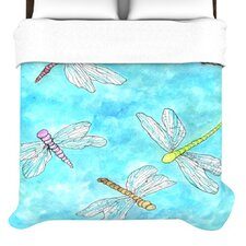"""""""Dragonfly"""" Woven Comforter Duvet Cover"""