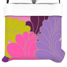 Moroccan Leaves Duvet Cover