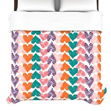 <strong>KESS InHouse</strong> Hearts Duvet Cover