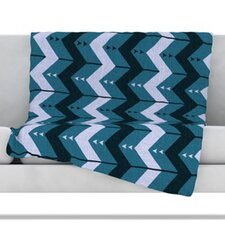 <strong>KESS InHouse</strong> Chevron Dance Fleece Throw Blanket