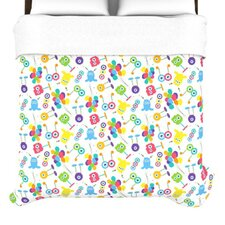 Fun Creatures Duvet Cover