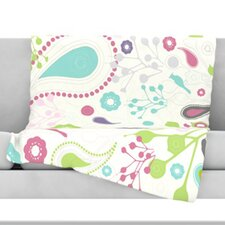 Bird Song Fleece Throw Blanket