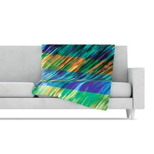 <strong>KESS InHouse</strong> Set Stripes II Fleece Throw Blanket