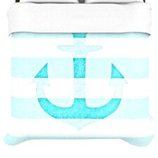 Stone Vintage Anchor Duvet Cover