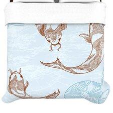 """""""Koi"""" Woven Comforter Duvet Cover"""
