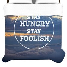 """Stay Hungry"" Woven Comforter Duvet Cover"