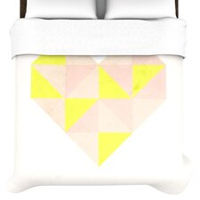 Geo Heart Duvet Cover