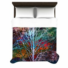 Trees in the Night Duvet Cover Colllection
