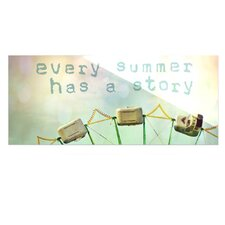 Every Summer Has a Story by Sylvia Cook Graphic Art Plaque