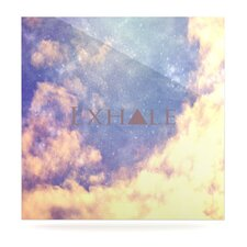 Exhale by Rachel Burbee Graphic Art Plaque