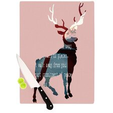 <strong>KESS InHouse</strong> Oh Deer Cutting Board