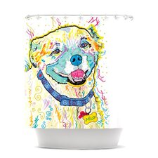 Milo Polyester Shower Curtain