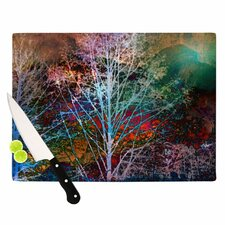 Trees in the Night Cutting Board