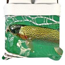 """Catch"" Woven Comforter Duvet Cover"