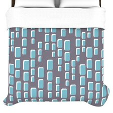 Cubic Geek Chic Duvet Cover