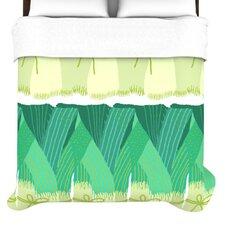 """""""Leeks"""" Woven Comforter Duvet Cover"""