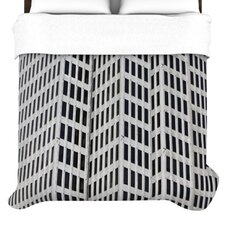 <strong>KESS InHouse</strong> The Grid Duvet Cover