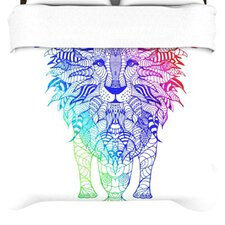 Rainbow Lion Duvet Cover