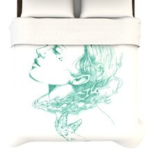 <strong>KESS InHouse</strong> Queen of The Sea Duvet Cover
