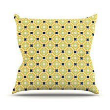 Tossing Pennies II Throw Pillow