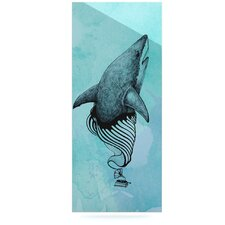 Shark Record III by Graham Curran Graphic Art Plaque