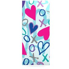 Hearts A Flutter Floating Art Panel