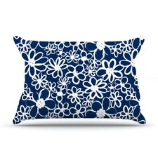 <strong>KESS InHouse</strong> Daisy Lane Microfiber Fleece Pillow Case