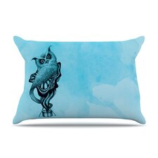 Owl III Microfiber Fleece Pillow Case