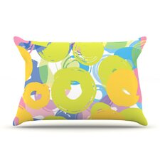Circle Me Microfiber Fleece Pillow Case