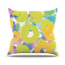 Circle Me Throw Pillow