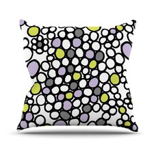 <strong>KESS InHouse</strong> Pebbles Throw Pillow