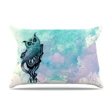 <strong>KESS InHouse</strong> Owl II Microfiber Fleece Pillow Case