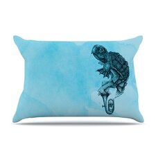 Turtle Tuba III Microfiber Fleece Pillow Case