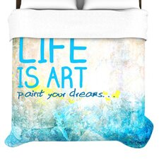 Life Is Art Duvet Collection