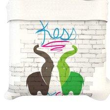 """""""Elephants"""" Woven Comforter Duvet Cover"""