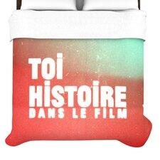 """""""Toi Histoire"""" Woven Comforter Duvet Cover"""