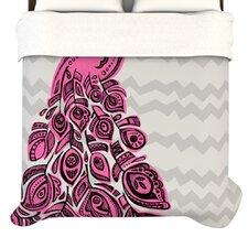 """""""Peacock"""" Woven Comforter Duvet Cover"""