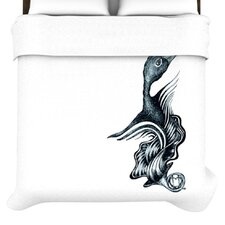 <strong>KESS InHouse</strong> Swan Horns Duvet Collection
