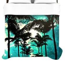Palm Trees and Stars Duvet