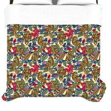 """""""My Boobooks Owls"""" Woven Comforter Duvet Cover"""