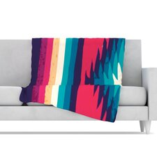 Surf Fleece Throw Blanket