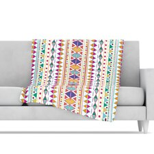 Native Fiesta Fleece Throw Blanket