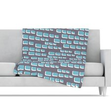 <strong>KESS InHouse</strong> Cubic Geek Chic Fleece Throw Blanket