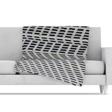 The Grid Fleece Throw Blanket