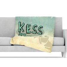 Kess Me Microfiber Fleece Throw Blanket